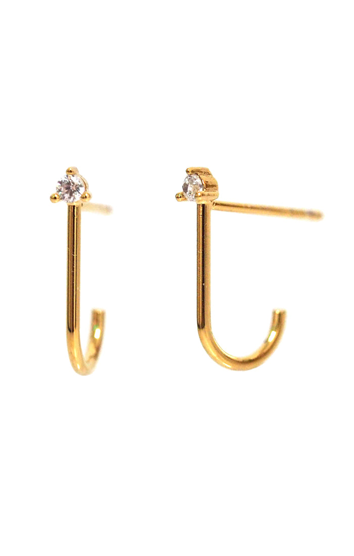 Crystal Suspender Earrings