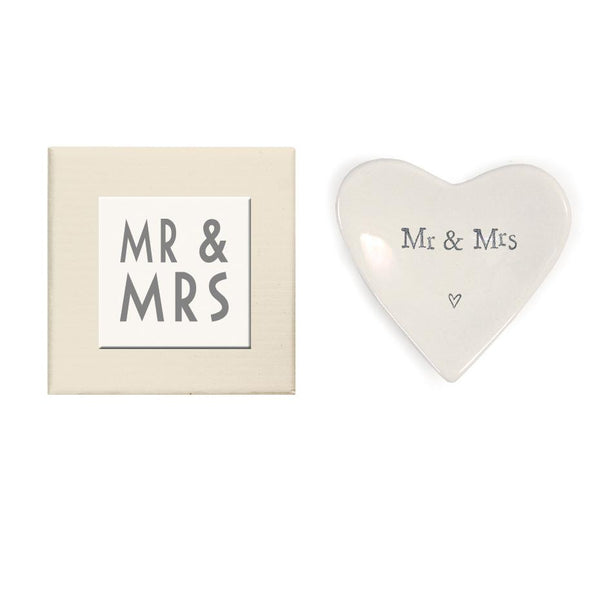 Mr & Mrs Mini Heart Dish