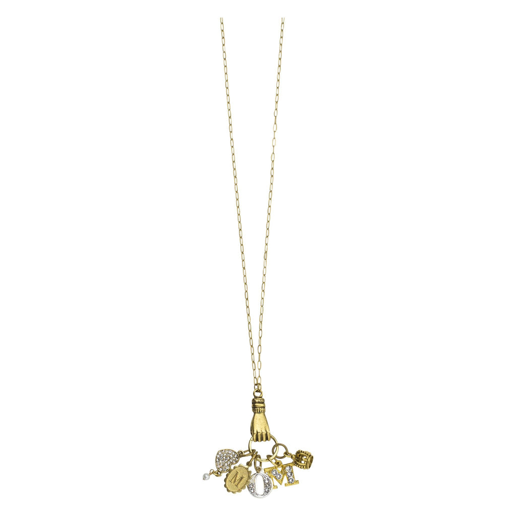 "30"" Queen Mom Charm Necklace"
