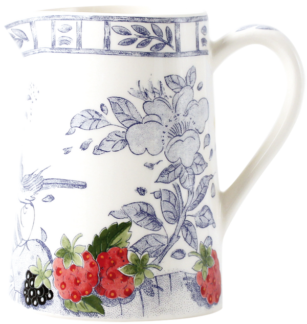 Gien Fruits & Blue Pattern Creamer