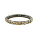 Tat2 Designs Ibiza Hammered Thin Bangle