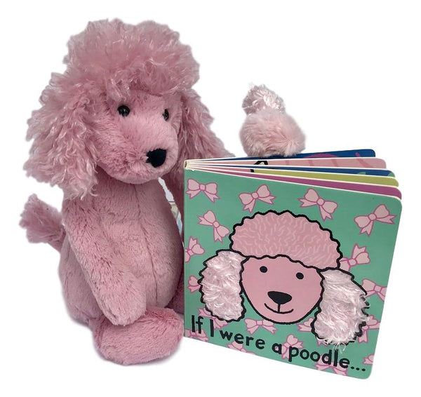 Pink Bashful Puppy & Book Gift Set