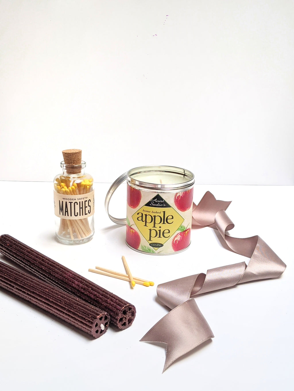 APPLE PIE THANKSGIVING/FALL CANDLE GIFT SET