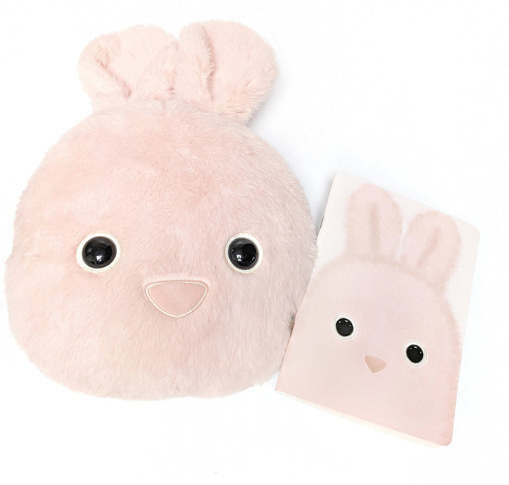 Kutie Pops Bunny Cushion & Notebook Gift Box