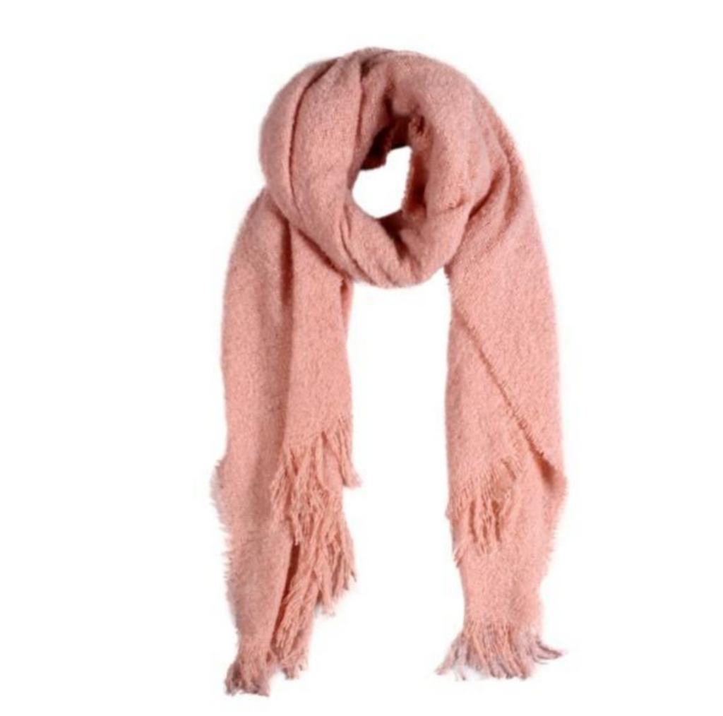 Soft Textured Solid Scarf