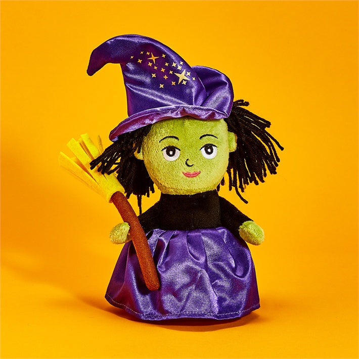 Plush Witch Speak & Repeat