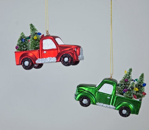 Home For the Holidays Truck Ornament A/2