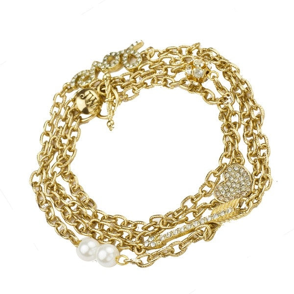 Love Sparkle Wrap Bracelet