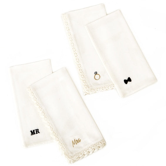 To Have and To Hold Set of 2 Handkerchiefs
