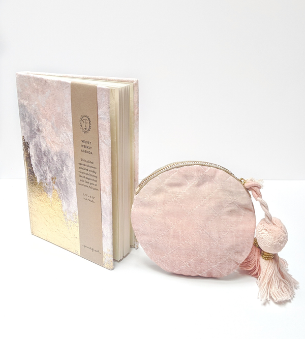 Blush Pouch & Agenda Gift Box