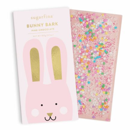 Pink Milk Chocolate Bunny Bark Bar