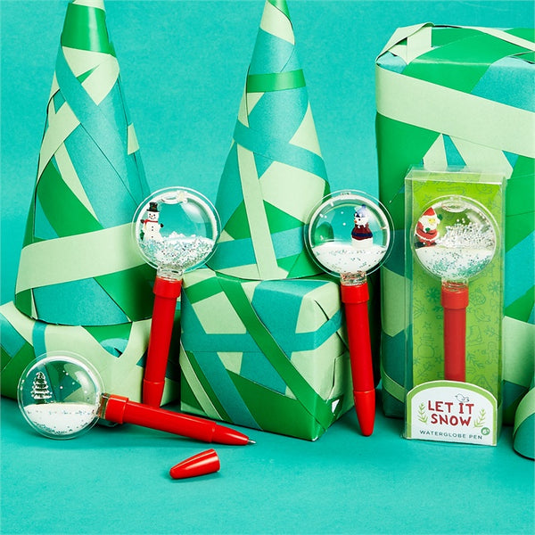 Holiday Snow Globe Pen