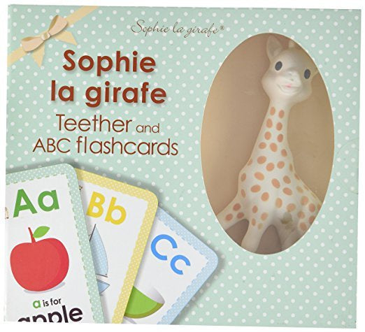 Sophie la Girafe Teether & Flashcard Set