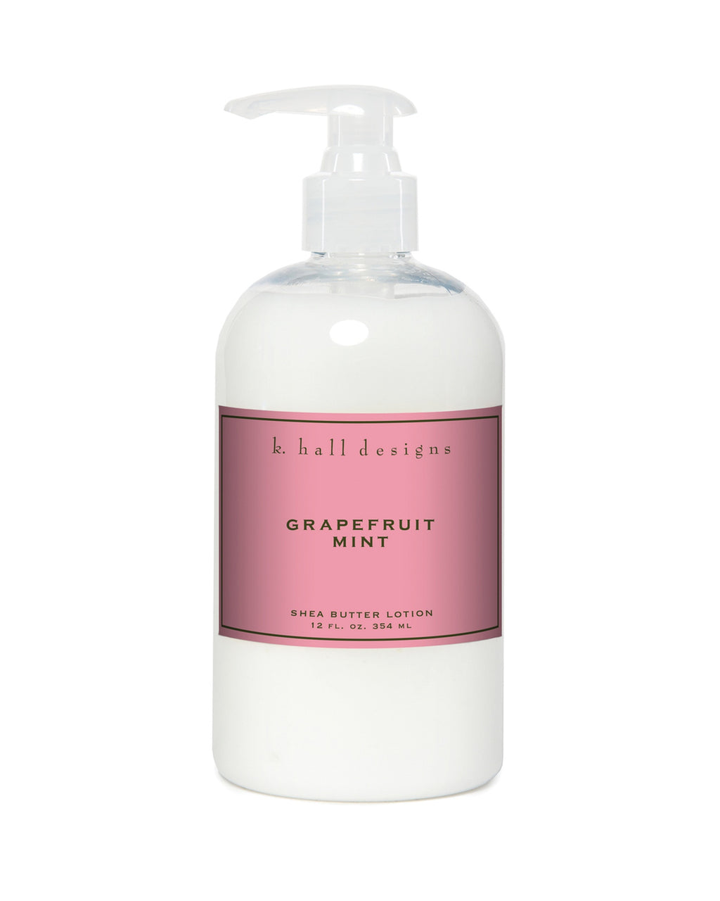 Grapefruit Mint Shea Butter Lotion 12oz