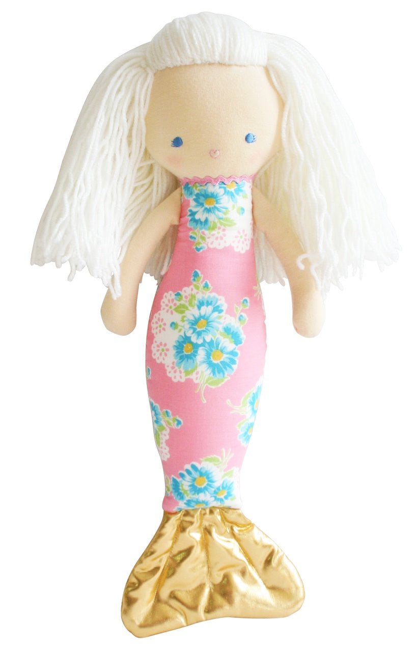 Mermaid Doll Pink