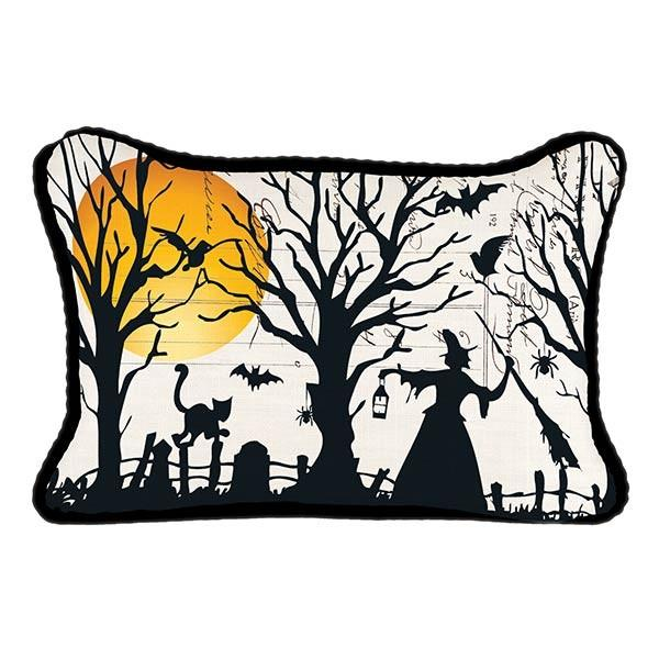 The Deborah Michel Collection Trick or Treat Rectangular Pillow