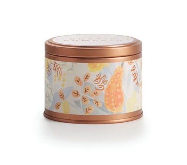 Rustic Pumpkin Candle Tin