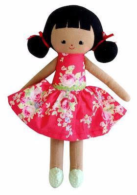 Alimrose Audrey Doll 10 in.