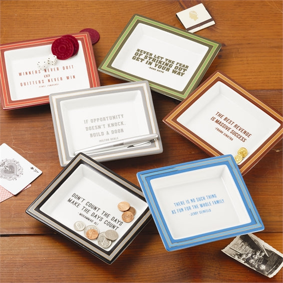 Wise Sayings Desk Trays, Assorted