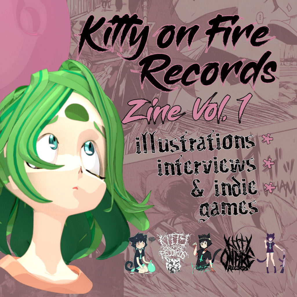 Kitty on Fire Records Zine Vol. 1