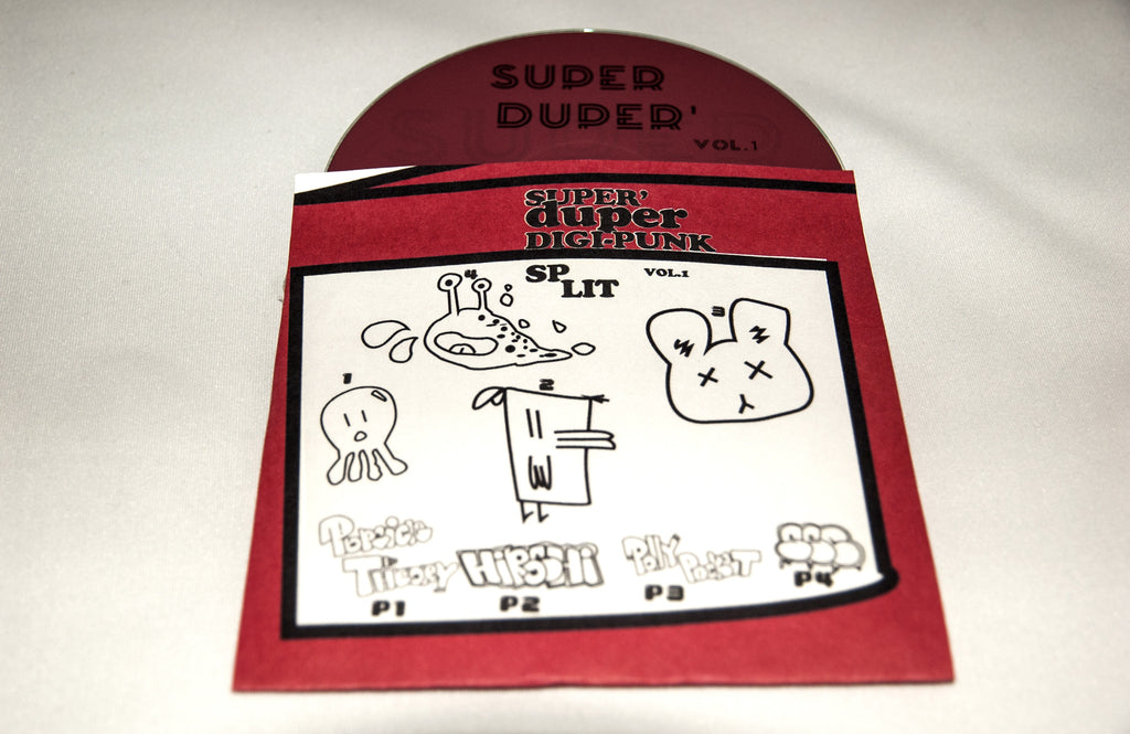 Super Duper Digi Punk Split Vol 1. Cassette