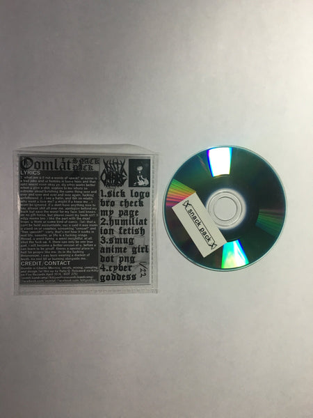 snack pack – limited edition silver mini CD by Oomlät