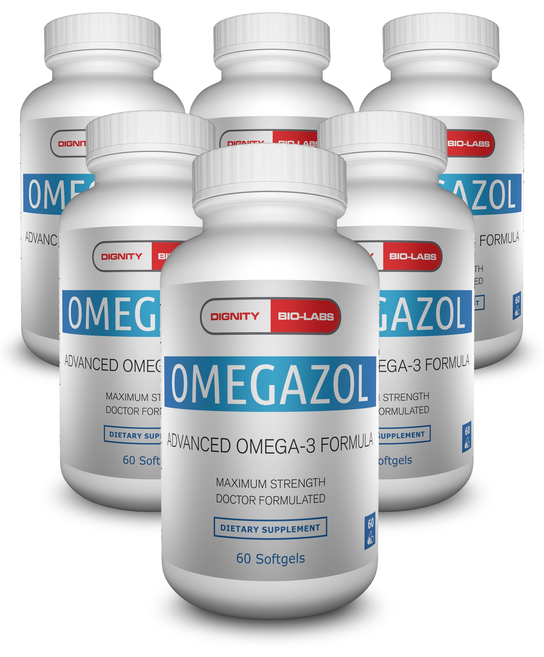 Omegazol<sup>®</sup> Omega 3 Fish Oil