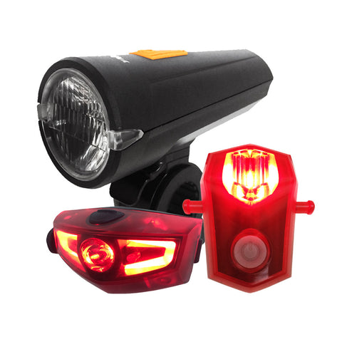 Rechargeable Bike Light Set