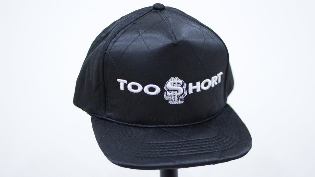 Too $hort Quilted Snap Back (Horizontal Logo)