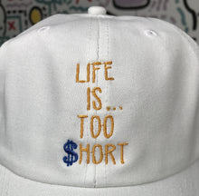 """Life Is...Too $hort"" Warriors Alternate Colors Dad Hat"
