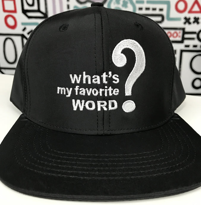 'What's My Favorite Word?' Snapback