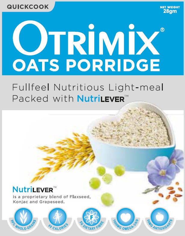 快熟三益粥一箱(12盒,144餐)Otrimix Quickcook Oats Porridge 12 Boxes (1 Carton)