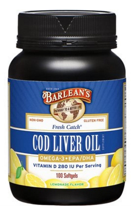 Cod Liver Oil Softgels 100ct 100ct