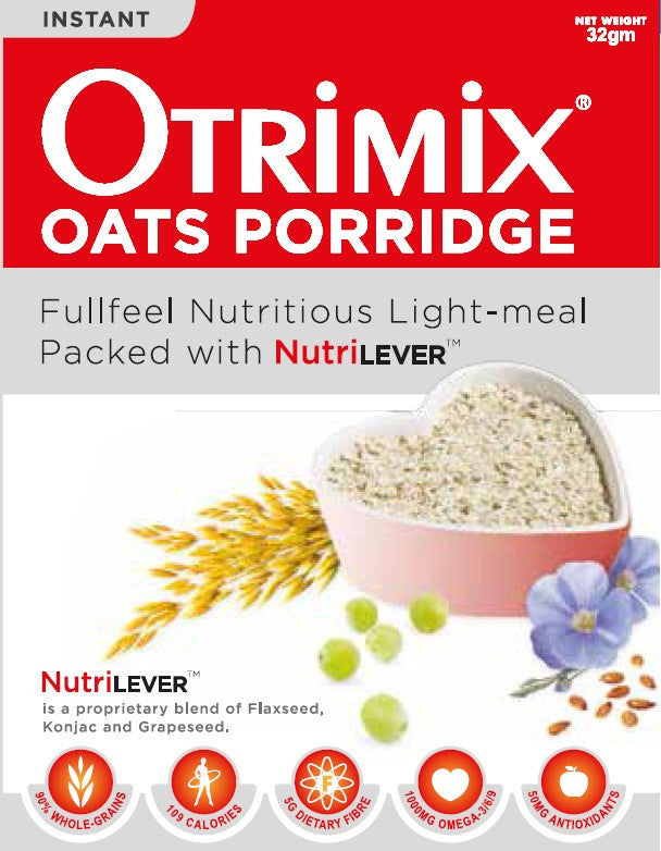 即食三益粥一箱(12盒,144餐)Otrimix Instant Oats Porridge 12 Boxes (1 Carton)