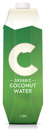 Organic Coconut Water 1L 1 Carton - Save $7.2