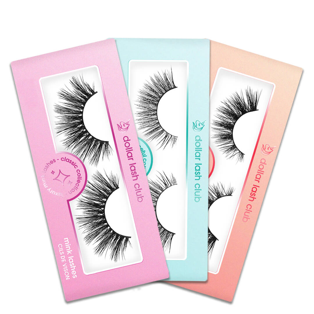 Luxury 3 Pack Lashes