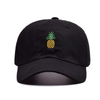 Pineapple Cap - Black