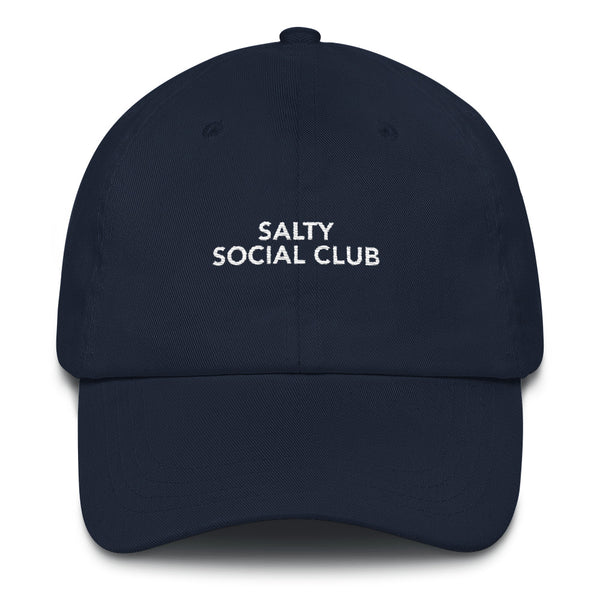 Salty Social Club Cap - Navy