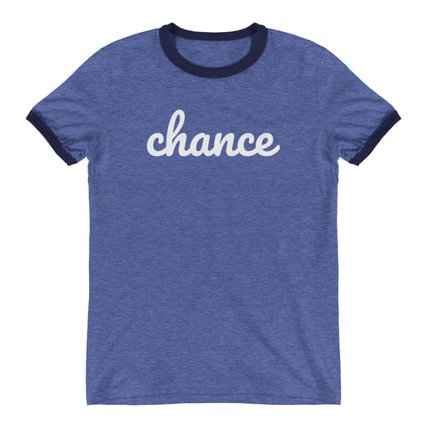 Chance Ringer T-Shirt - Blue