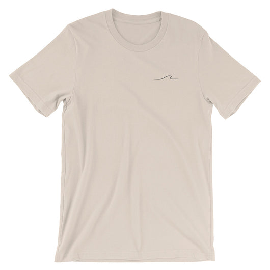 Wave T-Shirt - Cream