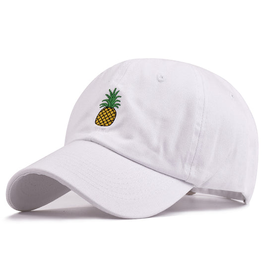Pineapple Cap - White