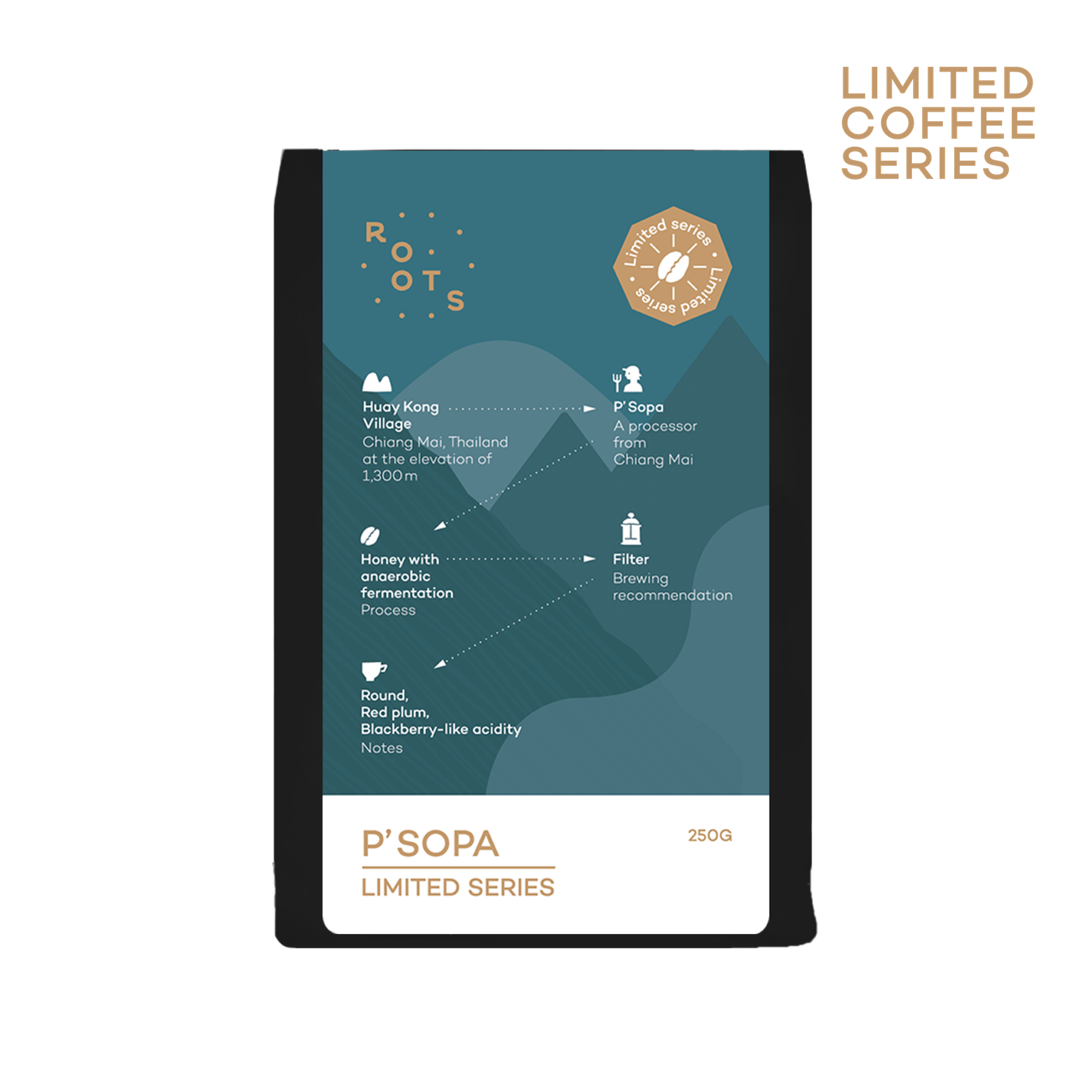 Limited Coffee Series - P' Sopa