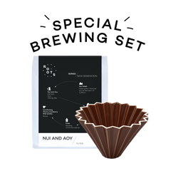 Brewing Set - Origami Dripper & Nui And Aoy Filter