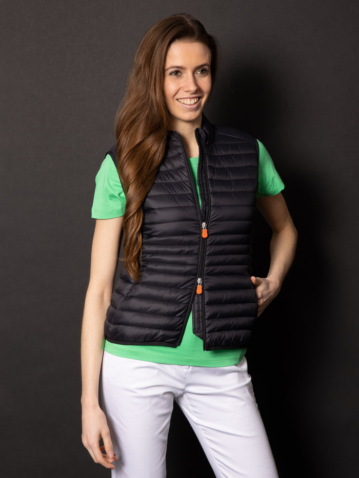 SAVE THE DUCK GILET IMBOTTITO BLACK