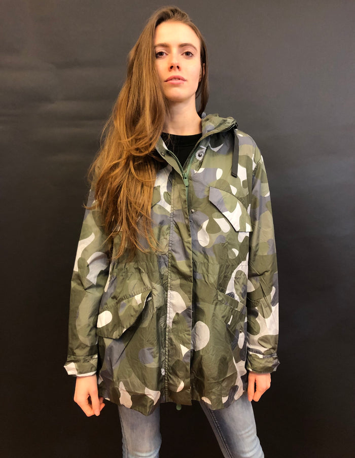 SAVE THE DUCK PARKA NYLON CAMOUFLAGE