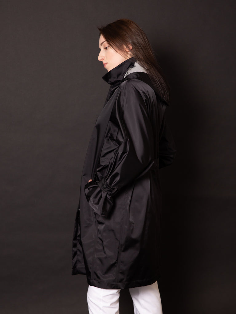 HERNO TRENCH OVER NYLON SATIN