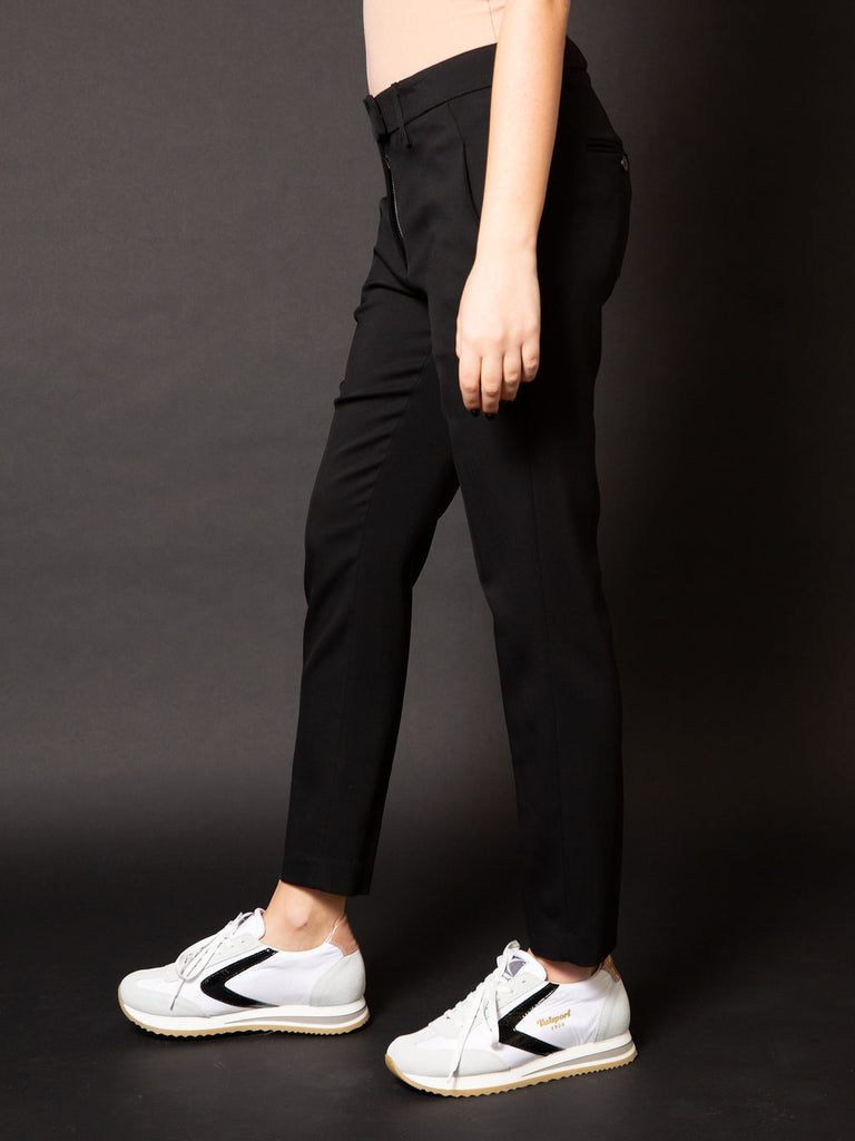 DONDUP PANTALONE PERFECT CREPE DE CHINE