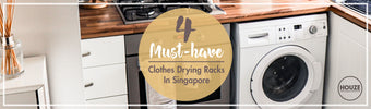 4 must-have clothes drying racks in Singapore