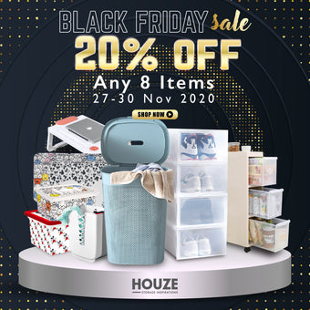 Shop without Queue on HOUZE.com.sg this Black Friday