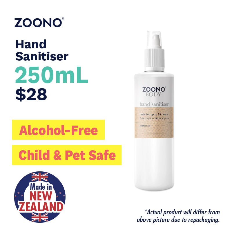 Sg Ready Stocks Zoono C Alcohol Free Hand Sanitiser Made In N Z